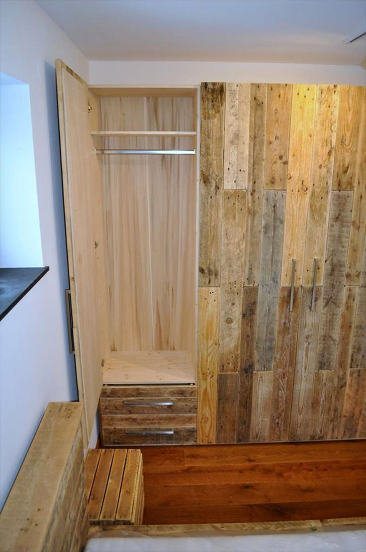 50 best pallet projects images on pinterest pallet ideas - Ideas para trasteros ...