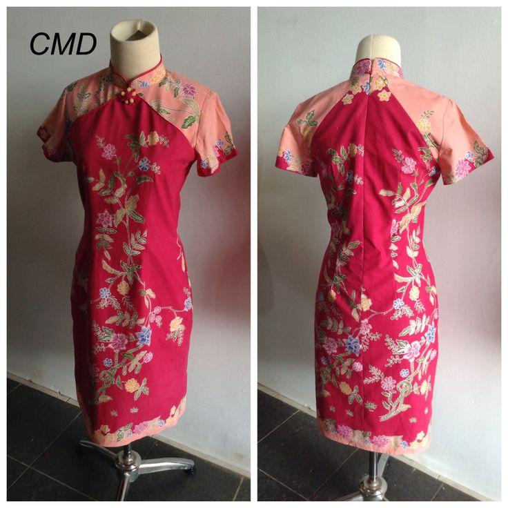 Batik cheongsam by CMD (batik pesisiran)