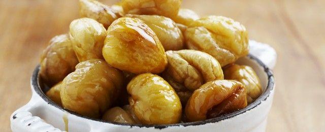 Castagne caramellate