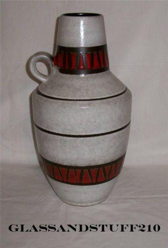 Vintage Scheurich Keramik West Germany Pottery Jug/Vase ...