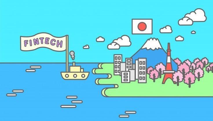 Fintech in Japan illustration by Miyabi Inoue