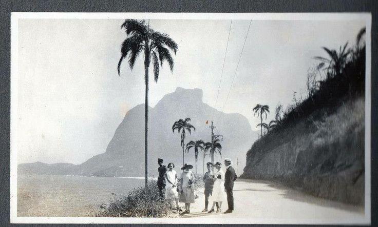Avenida Niemeyer, Rio de Janeiro 1921
