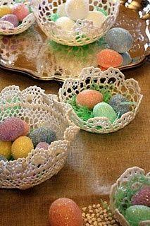 Arte De Fazer   Decoração e Artesanato: 30 Arranjos de Mesa para Páscoa