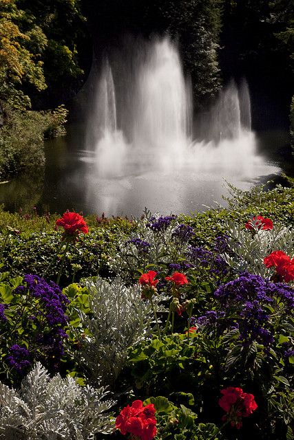 Butchart Gardens British Columbia Canada Beautiful