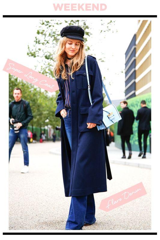WEEKEND STYLE : スーパーロングコートはパリジェンヌ風に着こなす! | FASHION | ファッション | VOGUE GIRL