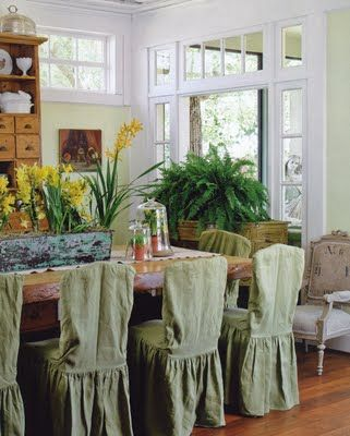 Verbena Cottage blog-room in Carolyn Westbrook's book, The French Inspired Home