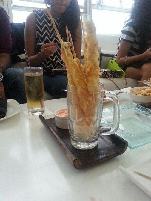 Prawn Tempura Picture Courtesy : @CulinaryMuse1