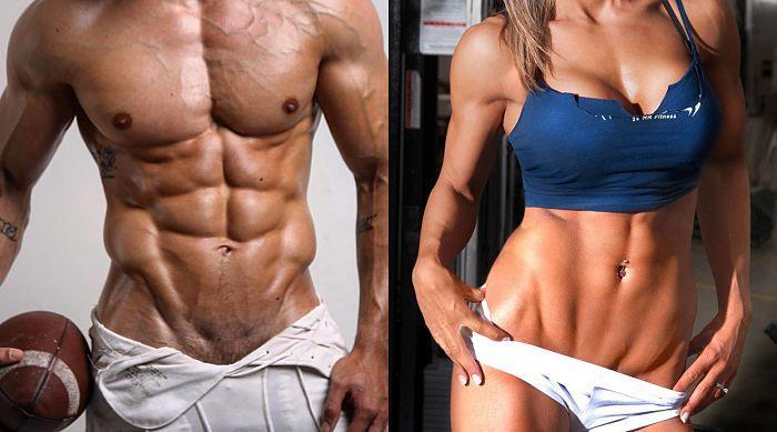 Rutina para bajar de peso y marcar musculos