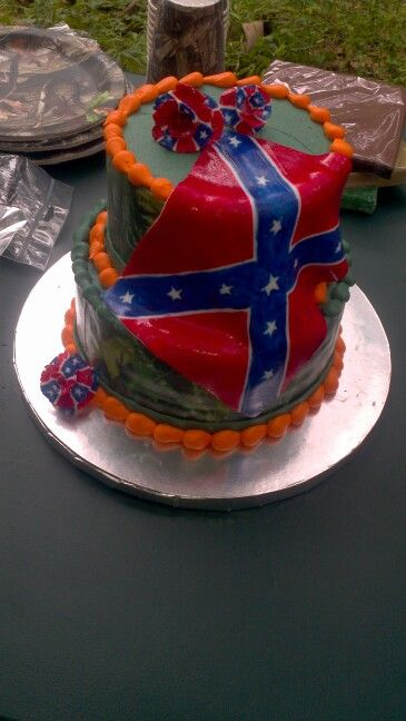 confederate flag wedding cakes 17 best images about cakes on camo cakes 12913