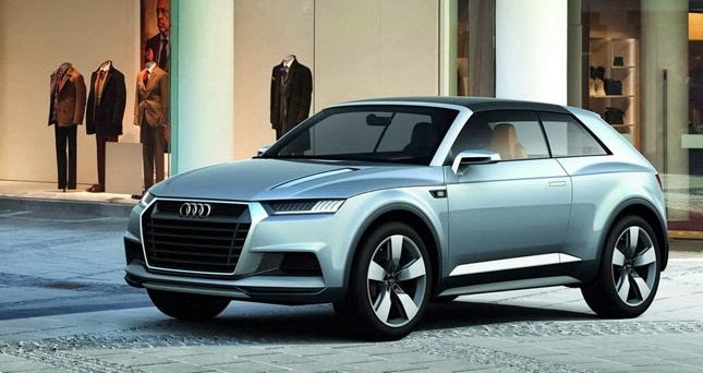 Audi Q1 2018 - Yet another reduced Crossover German company Audi will be quickly located by the marketplace, and it'll function as the new 2018 Audi Q1.