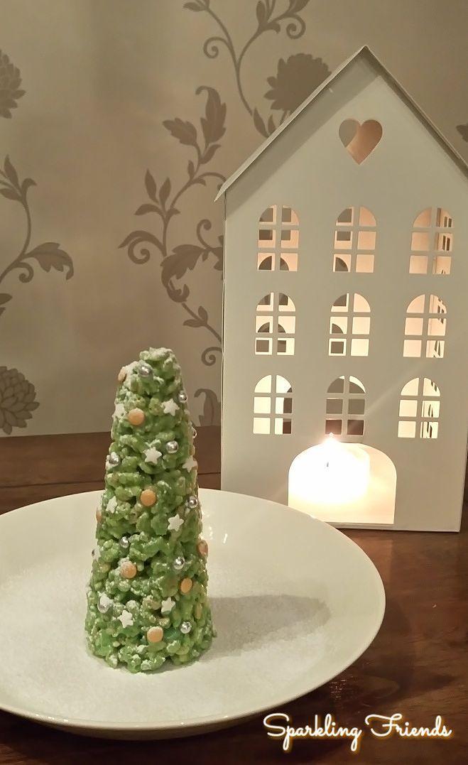 Kotitekoinen riisisuklaa on nopeasti syntyvä tarjottava ja vähän soveltamalla siitä saa myös näyttäviä herkkuja joululahjaksi tai joulupöytään.  Tässä pari ohjetta ja ideaa:   Riisi-Valkosuklaajoulukuuset   Valkosuklaata 145g Riisimuroja 4-5dl Vihr…