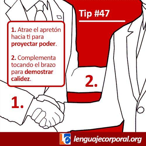 Tip 47 apretón de manos
