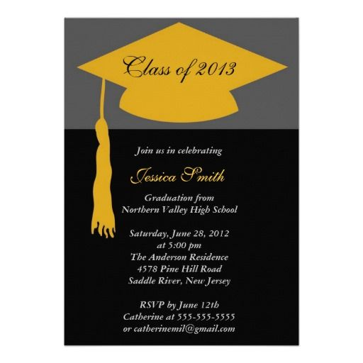 20 best Cheap Graduation Party Invitations images on Pinterest