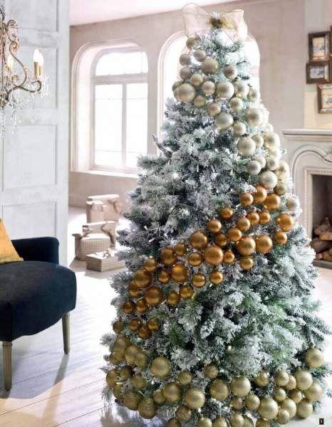 Decoracion de arbol de navidad rbol de navidad decorado jpg links los - Arboles de navidad blanco decoracion ...