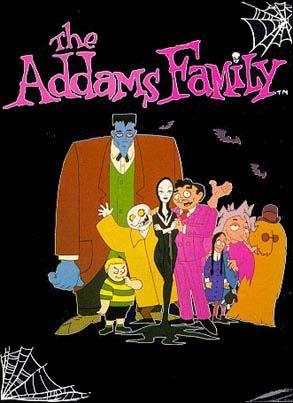 The Adams Family Cartoon!