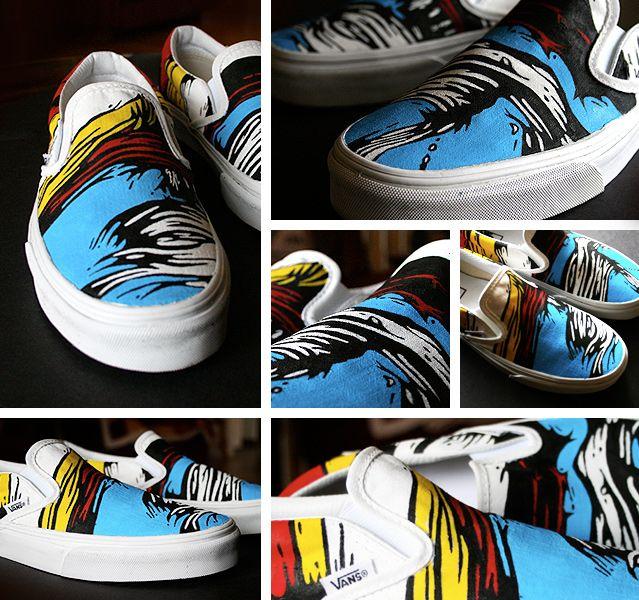 Vans / Custom / Primary colors.