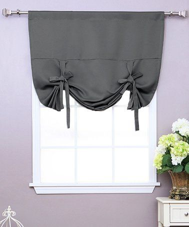 best 25 tie up curtains ideas on pinterest diy window shades kitchen window dressing and no. Black Bedroom Furniture Sets. Home Design Ideas