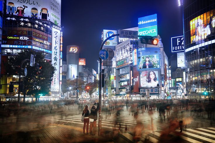 Shibuya: Motion and Stillness