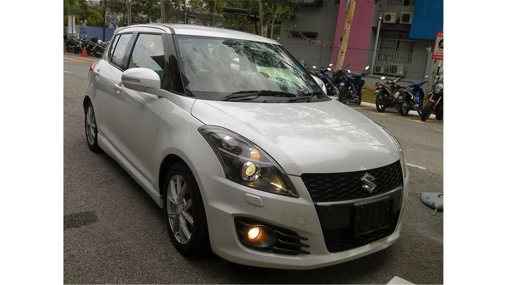 2015 suzuki swift sporty silver driving test #2015SuzukiSwiftSporty #Car #Autos #Review #Suzuki #car2015 #Swift #Sporty #White