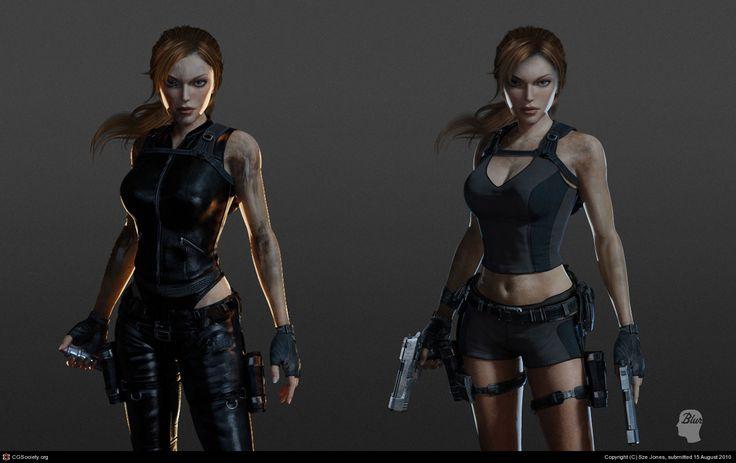 Tomb Raider - Lara Croft by Sze Jones | 3D | CGSociety