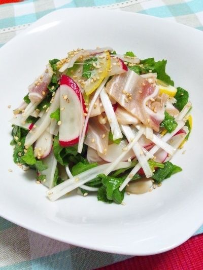ミミガーとラディッシュのサラダ by Chanaさん   レシピブログ - 料理 ...