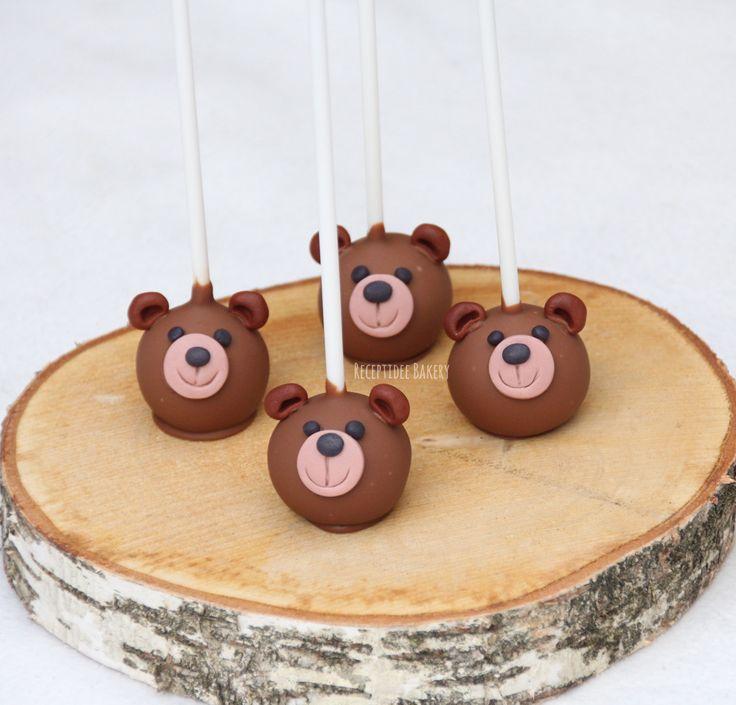 #beertje #beren #beer #cakepops #melkchocolade #vanillecake #botercreme #verjaardag #traktatie #kindertraktatie #kinderverjaardag #birthday #bear
