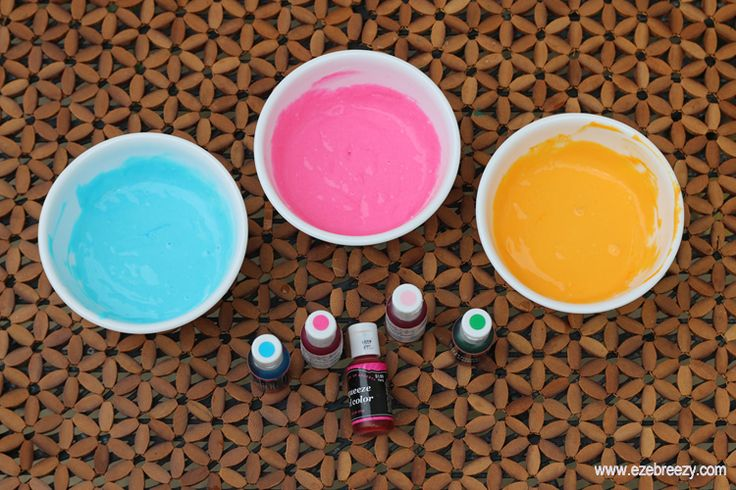 diy puffy paint color mix