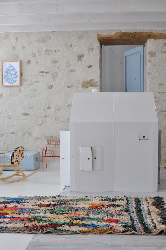 DIY: Playhouse from a Cardboard Box: Remodelista