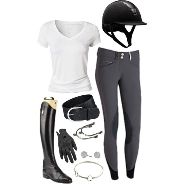 A fashion look from March  2014 featuring white t shirt, sterling silver jewelry and leather belts. Browse and shop related looks.