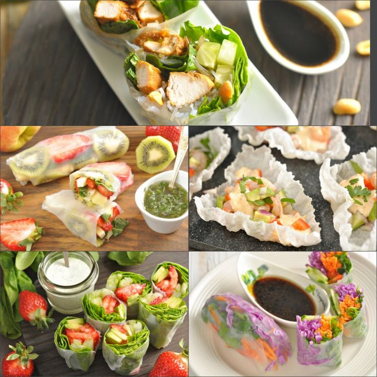 Спринг-роллы очень популярны в странах юго-восточной Азии и малопопулярны у нас, а зря! Это же самая быстрая в приготовлении и полезная закуска. Рисовая бумага…