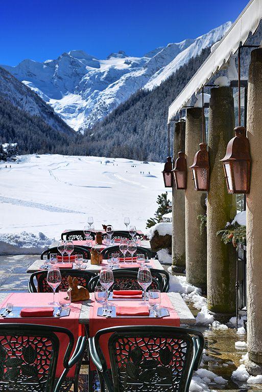 Hotel Bellevue & Spa. Cogne, Italy. #RelaisChateaux #HotelBellevue #Cogne #Snow #Mountain #Winter