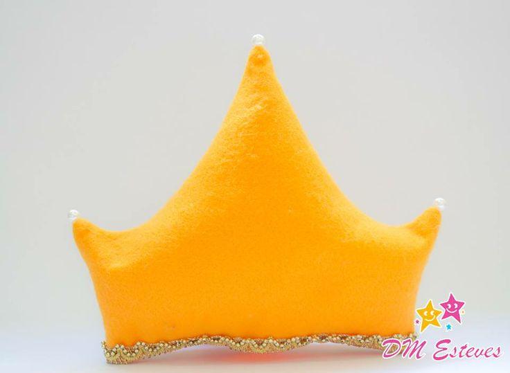 Almofadinha Coroa #bydmesteves