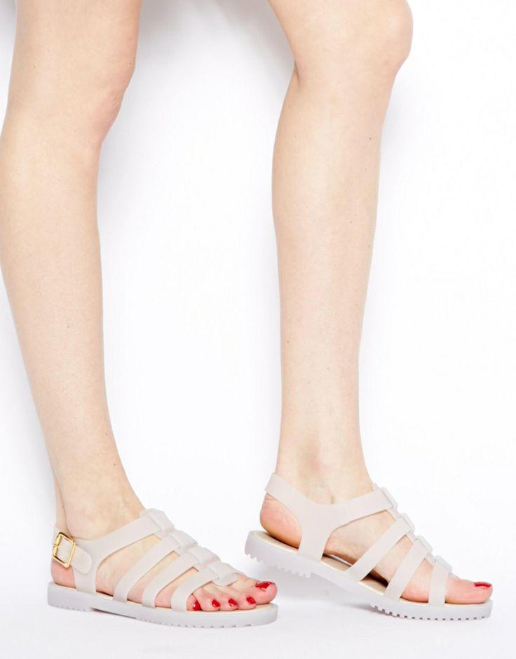Melissa Flox Frost Flat Sandals <3 <3 <3