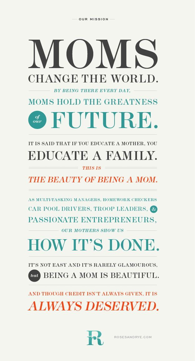 for all the Moms