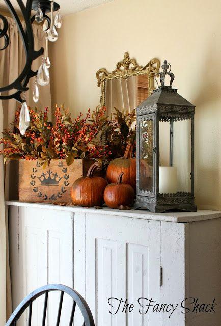 The Fancy Shack  Fall Autumn Decor