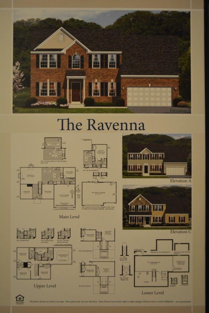 The Ravenna Single Family Home Floor Plan And Available