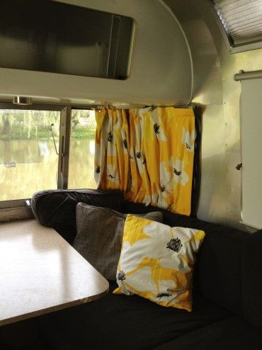 Diy Airstream Curtains Airstream Airstream Camping