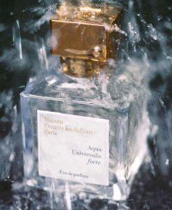 La Maison Francis Kurkdjian presenta su colección de #perfumes Aqua Universalis