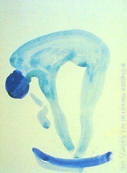 Blue Nude by Georgia O'Keeffe