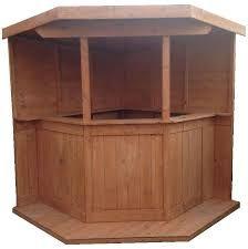 Image result for corner shed bar