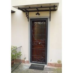 Wrought Iron Gate Door. Customize Realizations. 564