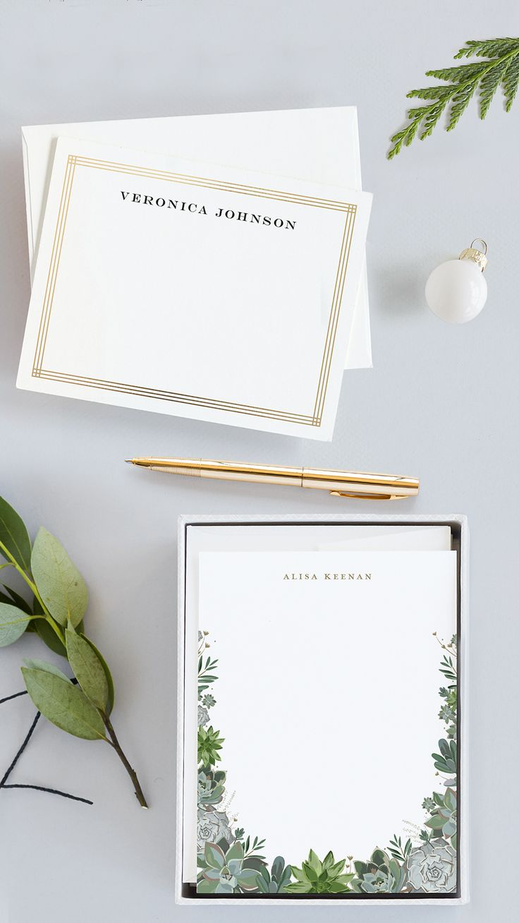 Give the gift of a handwritten note