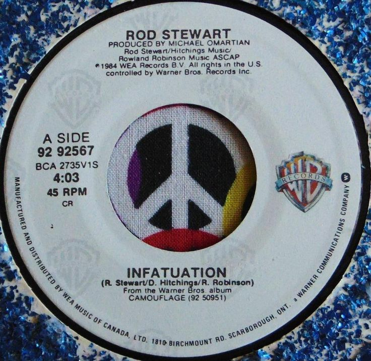 ROD STEWART.....INFATUATION & THREE TIME LOSER.....1984.....(M-)....CAN HEAR #CLASSICROCKPOPEASYLISTENINGROCKNROLLPOPVOCALSBritishInvasion