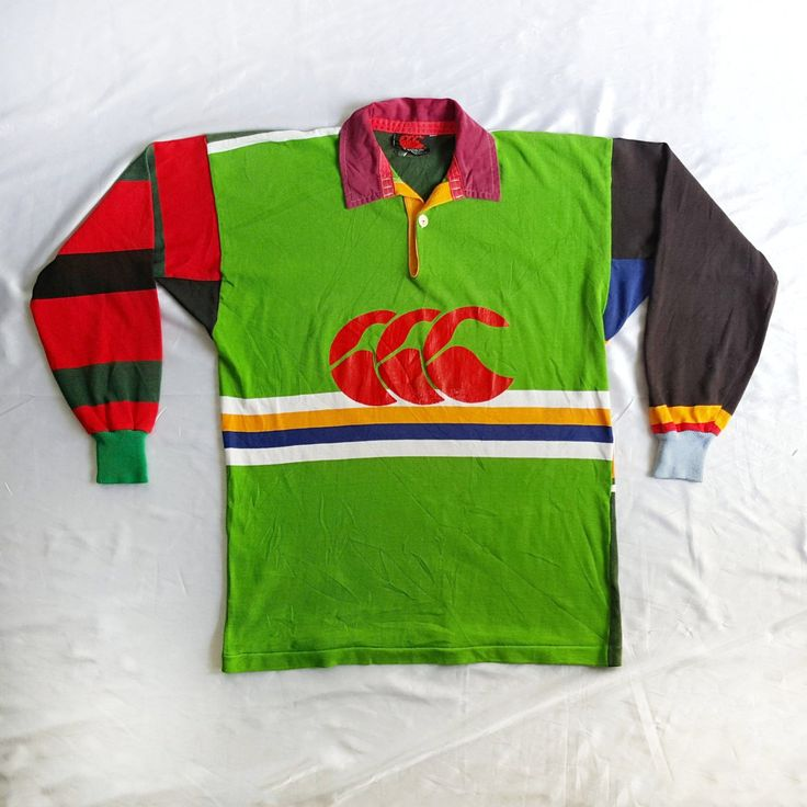 Vintage 90s Canterbury Australia Rugby Multicolor Jersey Shirt on VTG90s eBay Store!  http://www.ebay.com/itm/Vintage-Canterbury-New-Zealand-Australia-Rugby-Multicolor-Jersey-Shirt-Wallabies-/152387508068  #Vintage #90s #Canterbury #NewZealand #Australia #Rugby #Multicolor #Jersey #Shirt #Wallabies #ColorBlock #AllBlacks