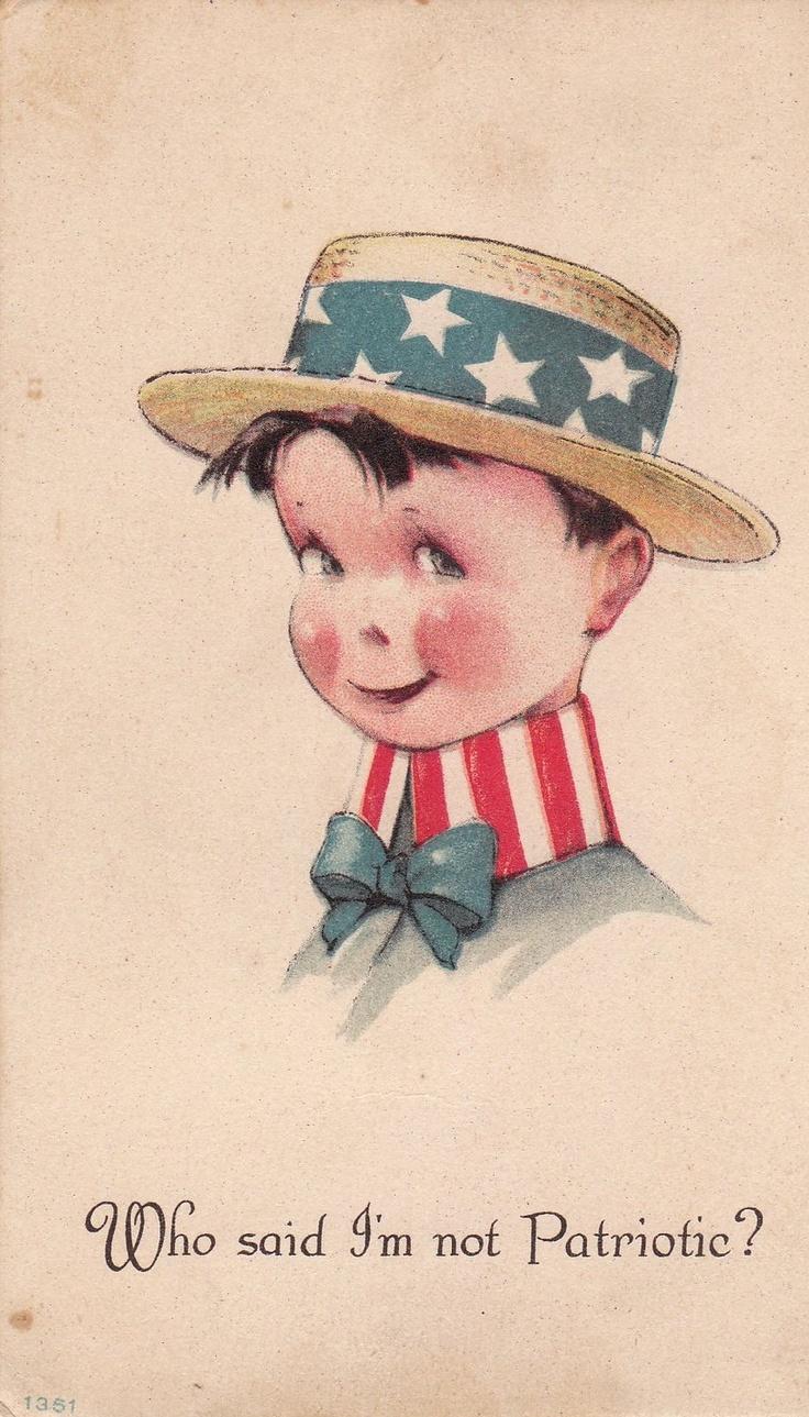 Старые открытки сша