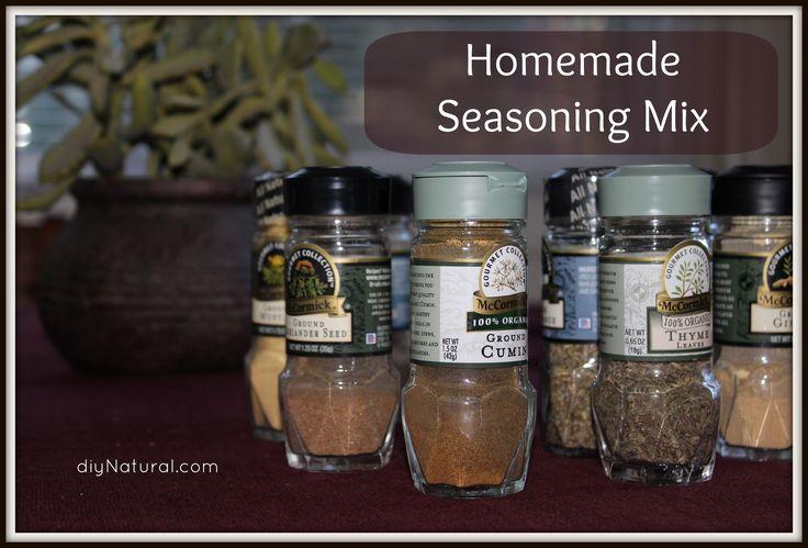Best 25+ Homemade seasonings ideas on Pinterest | Spices ...