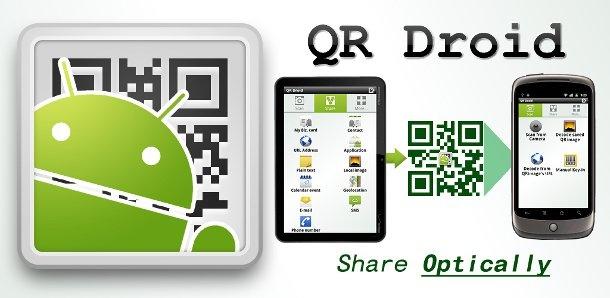 QR Droid: leggere e generare codici QR con Android