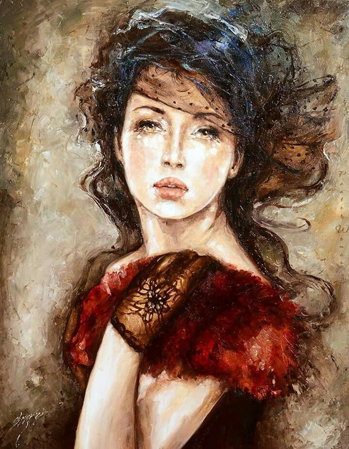 Russian Paintings Of Women 17 Best images ...