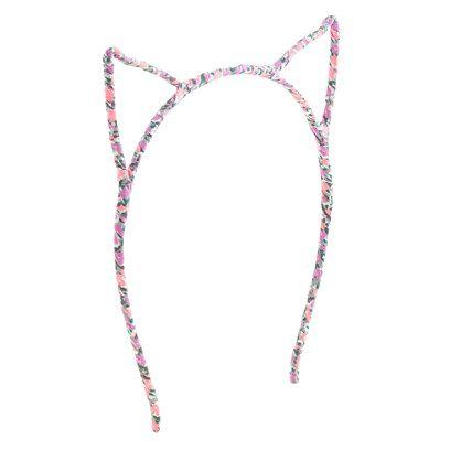 Girls' cat ears headband