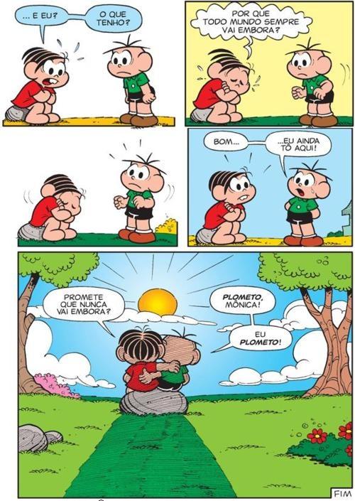 monica #cebolinha #amor